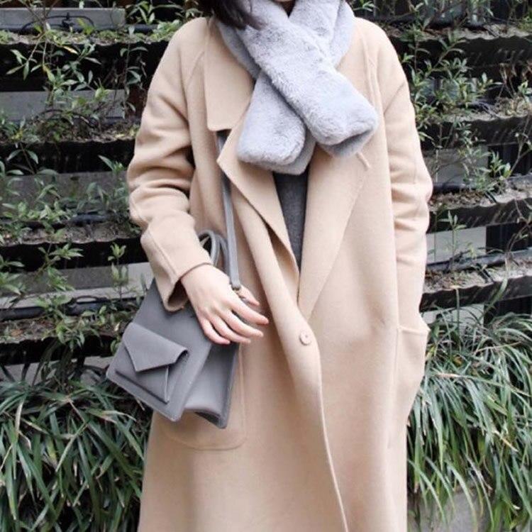 Tissu de laine femmes pardessus mélanges femme manteau automne hiver manteaux et vestes femmes grande taille Long manteau femmes laine manteaux