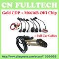 2015.1 Software TCS CDP Pro Com Bluetooth e OKI Chip (M6636B OKI Chip) + Conjunto completo de Cabos de Carro para Carros & Caminhões 3 EM 1 por DHL