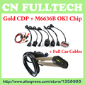2015.1 Software TCS CDP Pro With Blutooth and OKI Chip ( M6636B OKI Chip ) + Full Set Car Cables for Cars &Trucks 3 IN 1 by DHL