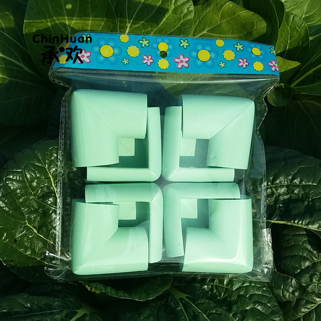 8 PCS SKY GREEN Thicker Models Soft NBR Baby Safety Corners Child  Protection Corner Protectors For