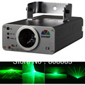 new bright 40mw Green Laser Line Scanner light show system Lighting DJ Christmas Party ktv dance Disco Stage Light s1