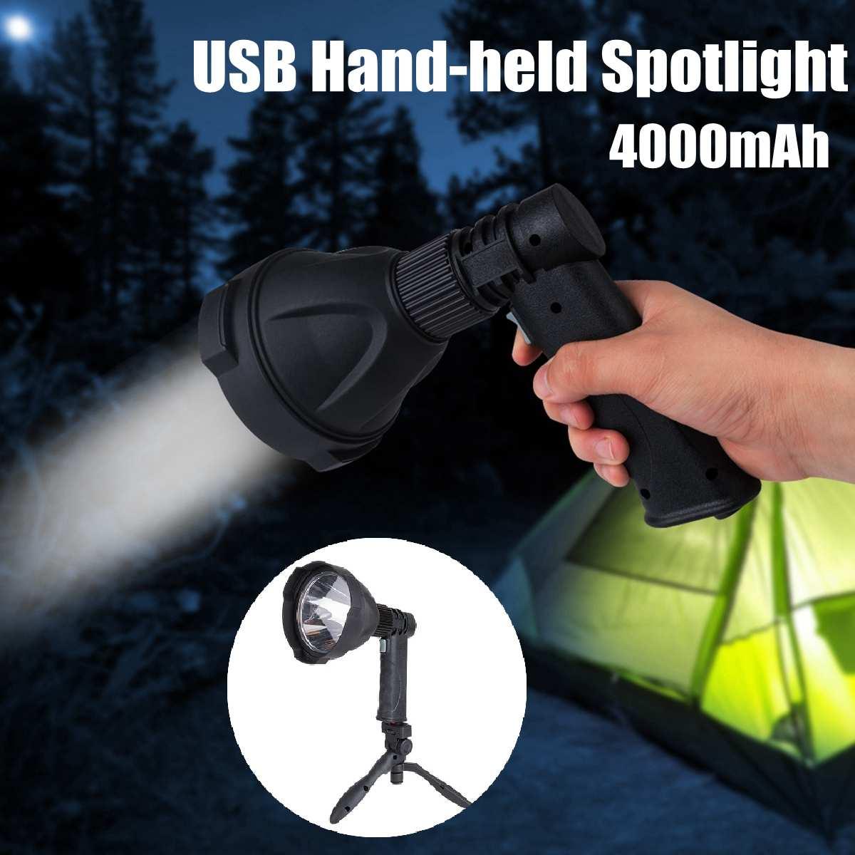Lampe de travail Portable haute puissance 10 W 10000lm contrebande L2 COB lampe de poche LED projecteur zoomable lampe de travail Rechargeable étanche