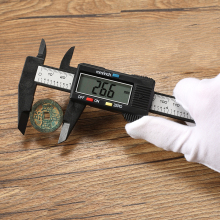Electronic Digital Display Calipers Scale 0-150/100mm Mini Oil Logo Jewelry ruler