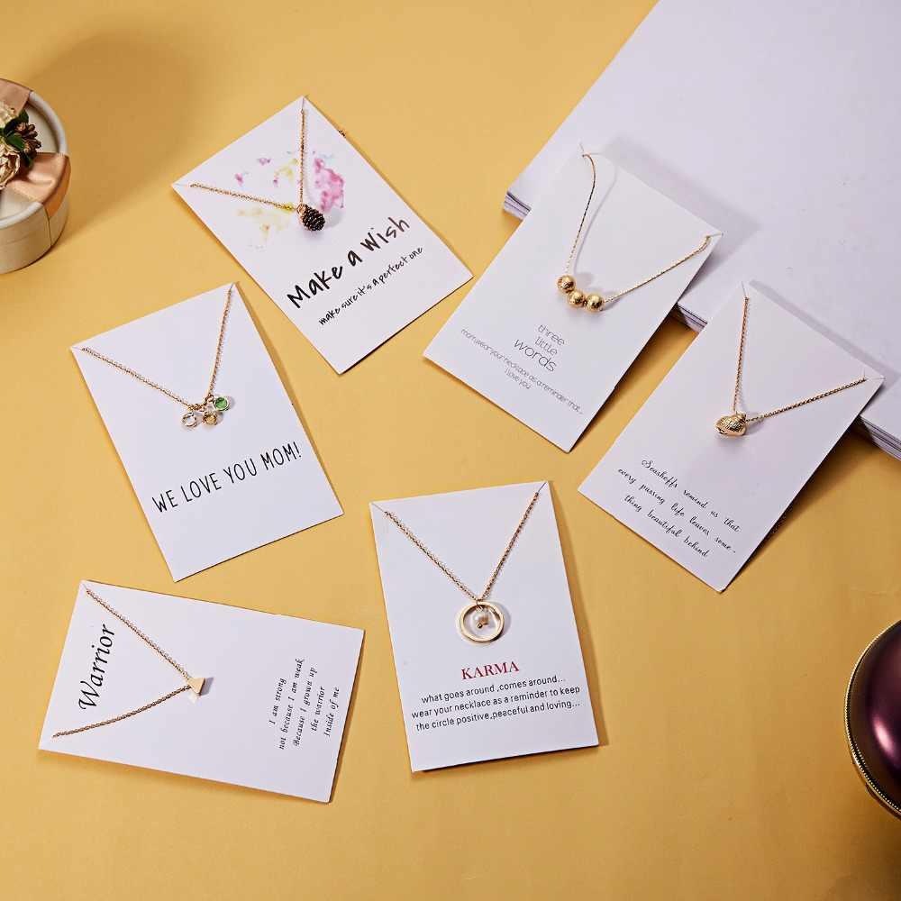 Rinhoo biżuteria naszyjnik z kartą koło z perłami kryształowy naszyjnik ze stopu eleganckie kobiety biżuteria prezenty oświadczenie Dropshipping
