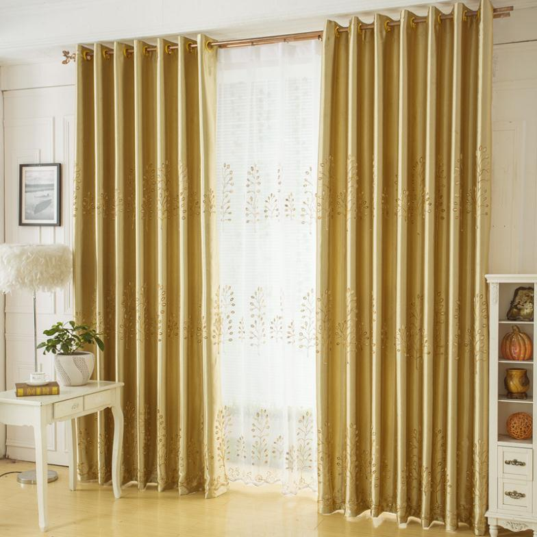 gold curtains living room free shipping curtains for living dining child room 11913