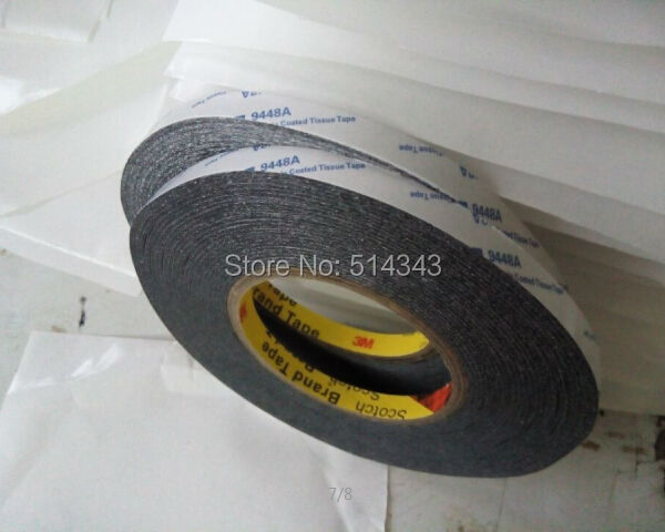 High Adhesion Adhesive Double Sided Tissue Tape 3m 9448ab