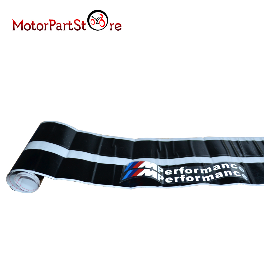M Performance Side Skirt Sill GLOSS Decal Stickers for BMW F32 F33 F36 4 Series 2pcs new style m performance side skirt sill decal stripe vinyl sticker for bmw 4 series f32 f33 420i 428i 435i