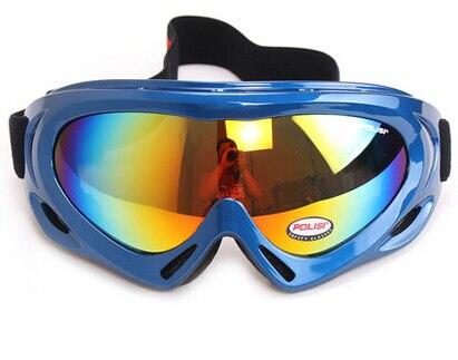2017 POLISI P-301-BL Children Ski Outdoor Motorcycle Eyewear goggles snowboard Glasses Snowboard Skate Sled Goggles Glasses