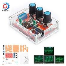 1 Гц-1 МГц XR2206 функция генератор сигналов DIY Kit синус/треугольник/квадратный выход генератор сигналов Регулируемая амплитуда частоты