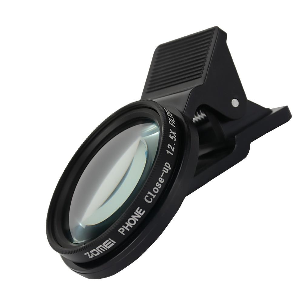 3 en 1 ZOMEI universel 37 MM CPL + gros plan filtre + ND2-400 ND Fader filtre Kit professionnel M1 téléphone lentille filtre pour iPhone samsung