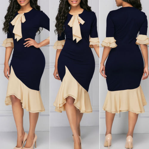 New Women Wedding Bridesmaid Dresses Evening Party Cocktail Ball Prom Gown
