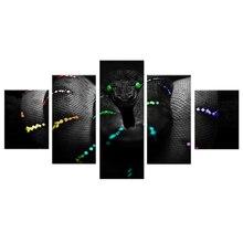 5pcs/set Full Square Diamond 5D DIY Painting Black Snake Animal 3D Embroidery Cross Stitch Rhinestone Paining art