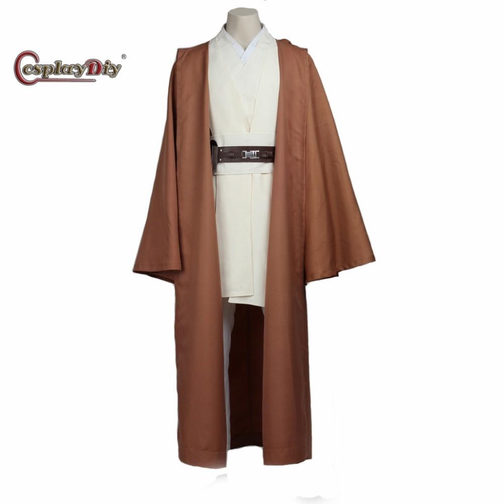 moviestar wars obi wan kenobi jedi cosplay costume