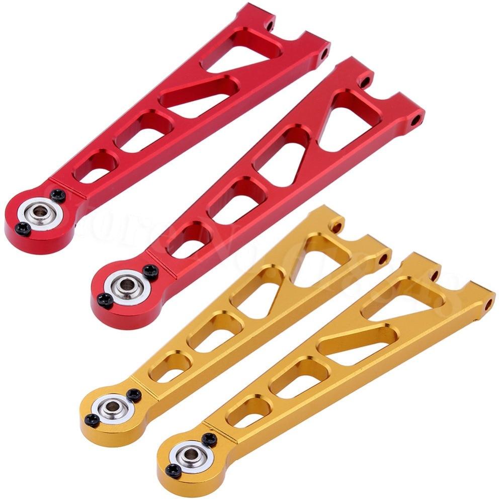 En aluminium Front Upper Suspension Arm (L/R) pour 1:10 Électrique Himoto E10XT E10XTL Katana Truggy Mise À Niveau Pièces 33601g