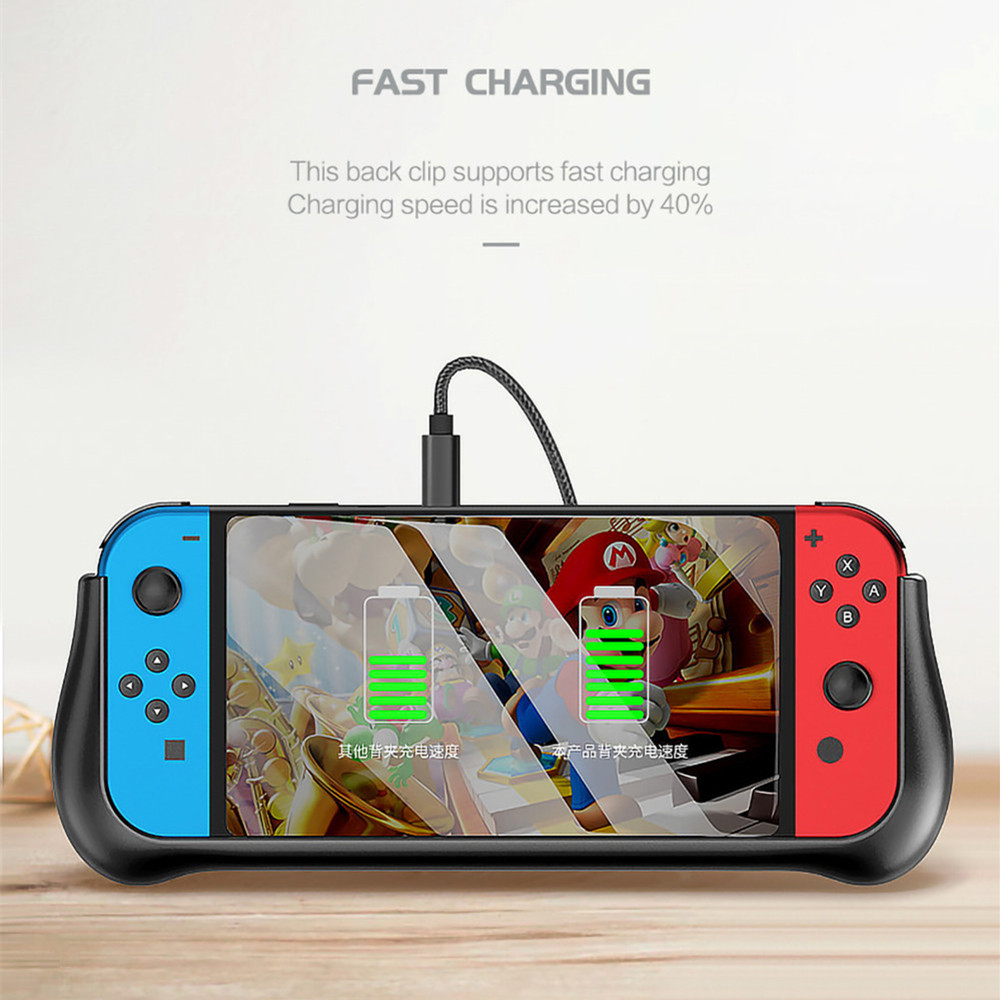 10000mAh Portable Power Bank For Nintendo Switch NS NX Stand Holder Fast Charger External Battery For Nintendo Switch Console in Battery Charger Cases from Cellphones Telecommunications