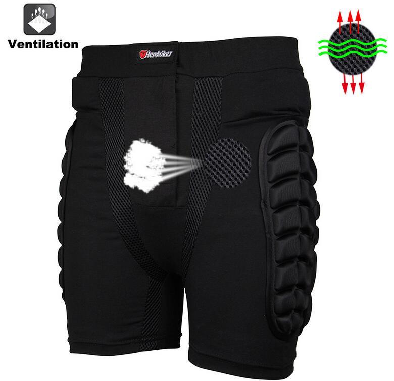 Ski Hip Butt Pantalon de Protecci/ón Snowboard Moto Motocross Homme Negro 5