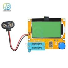 LCR-T4 ESR Meter Mega328 Digital Transistor Tester Diode Triode Capacitance MOS/PNP/NPN LCR 12864 LCD Screen
