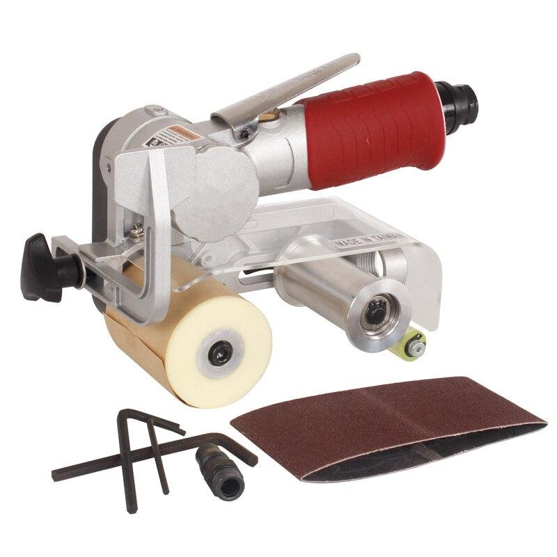 Machine pneumatique portative de ceinture de sable machine de polissage de ponçage d'air de 60X260mm machine de dessin de réservoir outil de meulage de vent de ponceuse à air