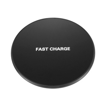 15W Qi Wireless Charger For iPhone 8 X XR XS Max QC3.0 Fast Wireless Charging for Samsung S9 S8 Note 8 9 S7 USB Charger Pad 1