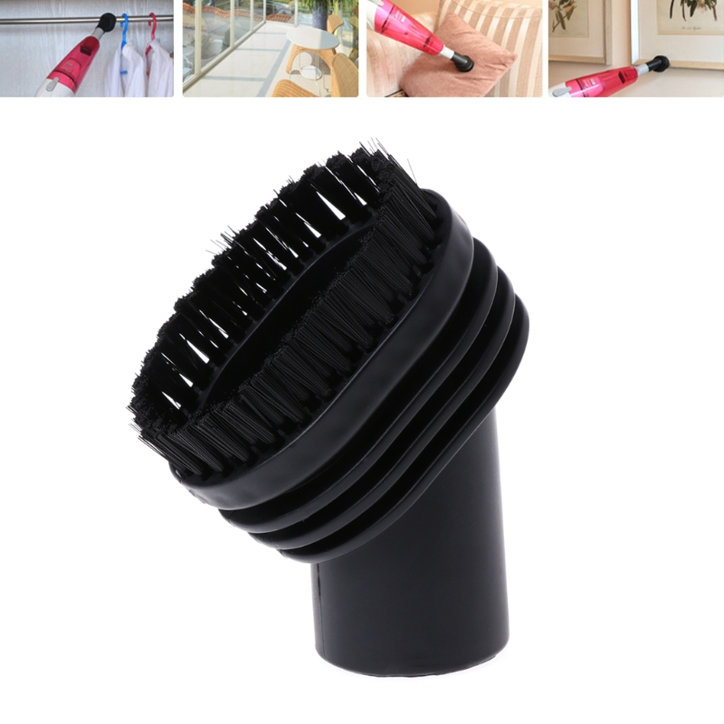 Home Use Mixed Horse Hair Oval Cleaning Brush Head Vacuum Cleaner Accessories Tool 32mm стоимость