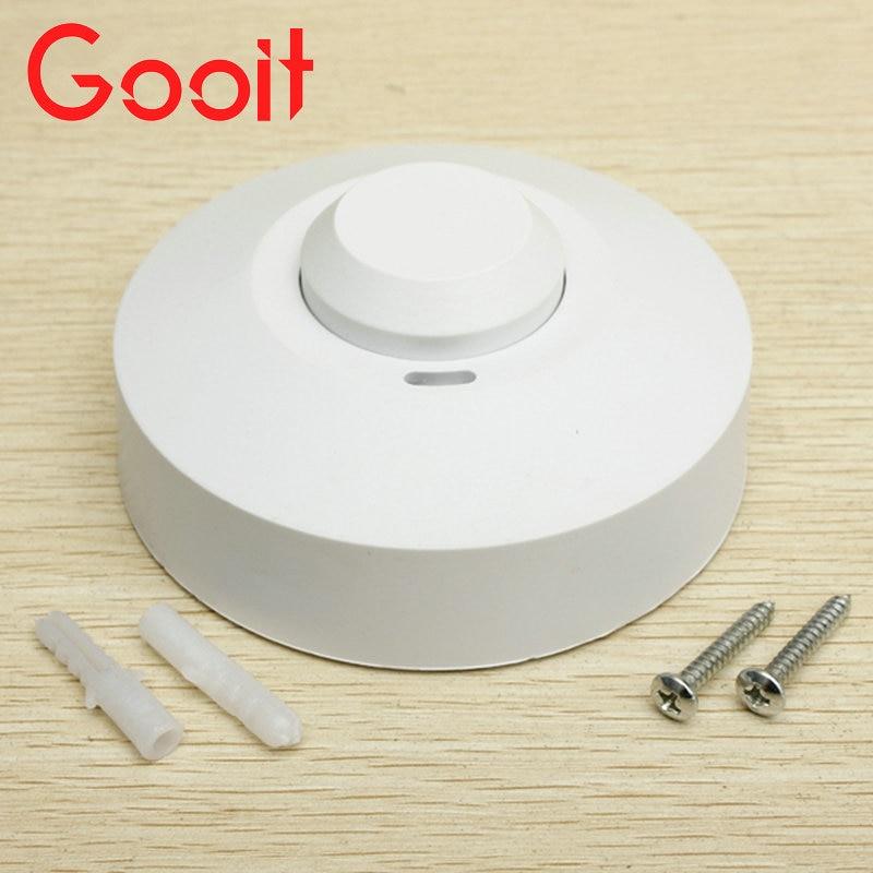 Gooit Microwave Radar Sensor Light Switch PIR Occupancy Body Motion Detector 220V 1200W