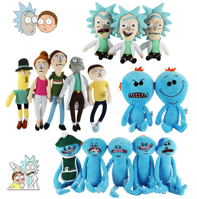 Rick and Morty Plush Toy