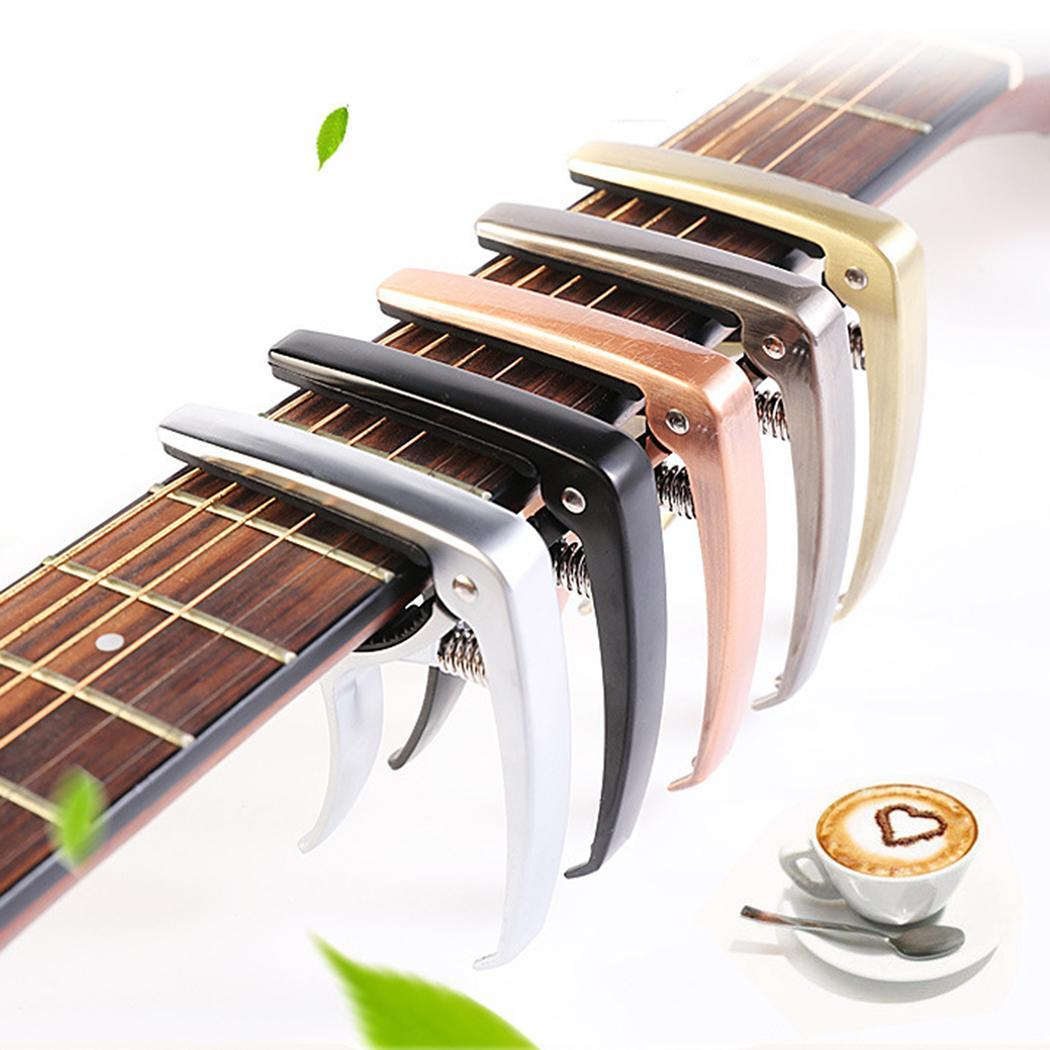 Plastic Guitar Capo for 6 String Acoustic Classic Electric Guitarra Tuning Clamp Musical Instrument Accessories new 5 2 way airtac solenoid valve 4v series 4v330c 08 1 4 close centerr dc24v ac220v