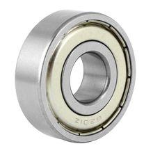 6201Z deep groove ball bearing, metal, 12 x 32 x 10 mm, sealed