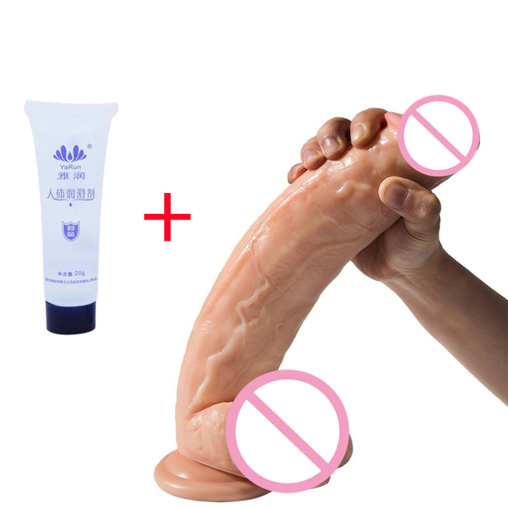 Massager Dildo Suction Cup Masturbator Massager Vagina Waterproof Adult Sex Toy Comes With Fun LubricantsMassager Dildo Suction Cup Masturbator Massager Vagina Waterproof Adult Sex Toy Comes With Fun Lubricants