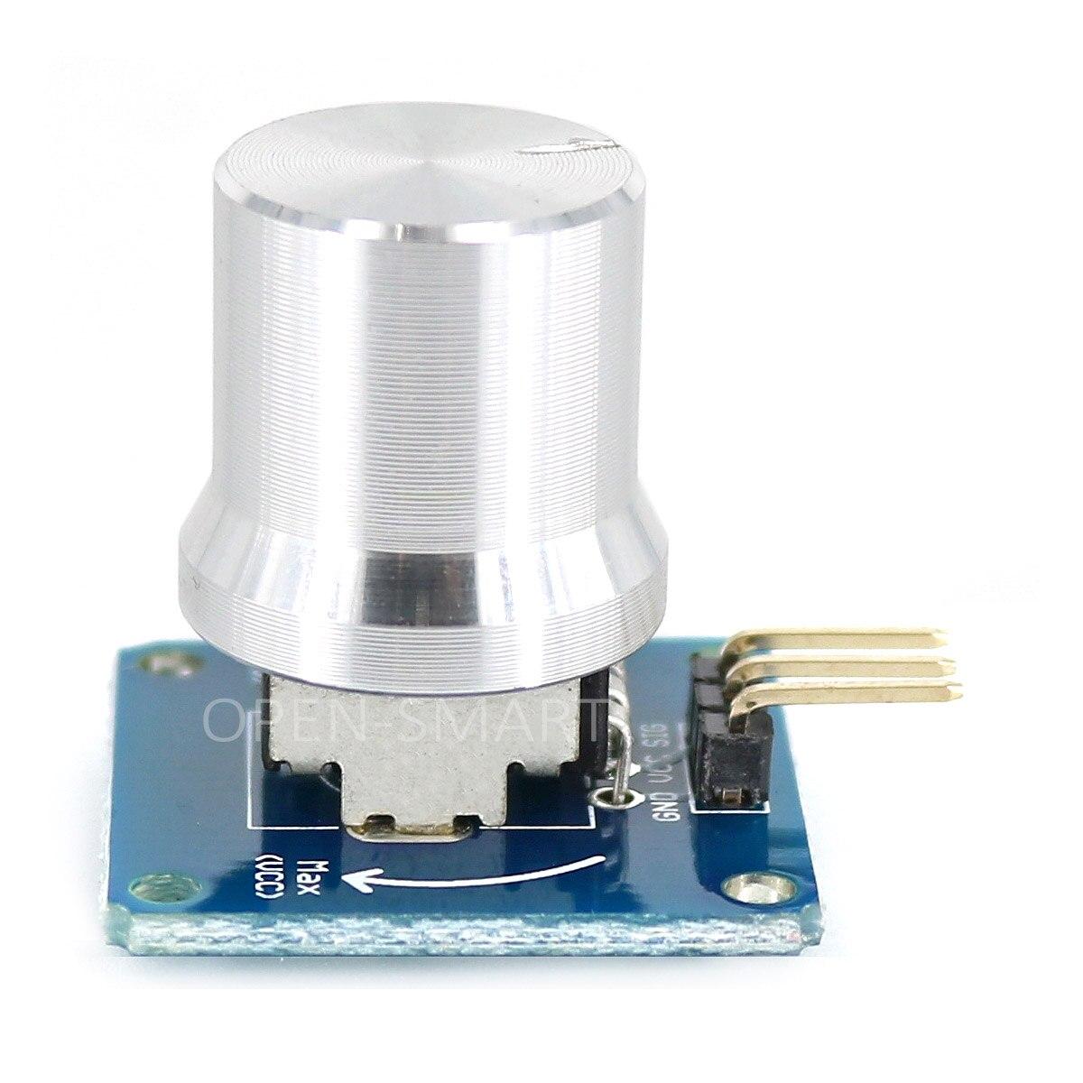 Rotation Angle Sensor, Adjustable Potentiometer, Knob Switch, Adjust Volume, Dimming Brightness