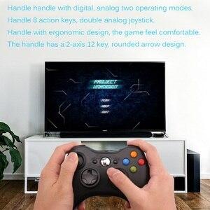 Image 3 - Contrôleur de manette de jeu 3D USB filaire double vibration 360 contrôleur de jeu dordinateur de précision pour Steam Win98/ME/2000/XP/Win7 8