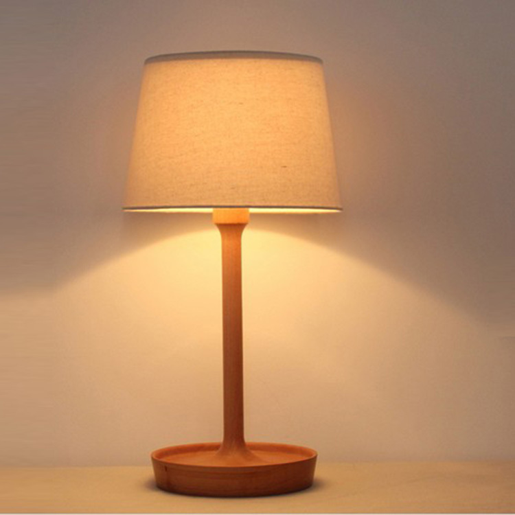 wooden minimalist table lamp bedside lamp ikea desk lamp reading lamp decorative lights