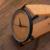BOBO de AVES de Las Mujeres de La Vendimia Marca de Diseño de Lujo de Bambú de Madera Relojes Señoras Reloj Con Reloj de Cuarzo Del Regalo de Cuero Real caja