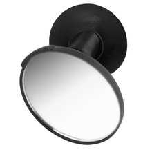 AUTO Car 360 Degree Rotary Rear View Blind Spot Mirror Black w Suction Cup