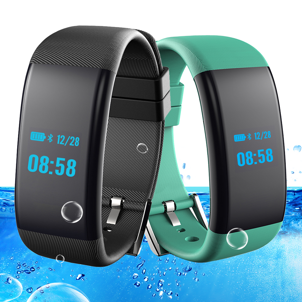 Smart Fitness Pulso Bracelet Pulse Band Swim Watch Heart Rate Blood Pressure Oxygen Monitor Wristband Pedometer Waterproof Clock все цены
