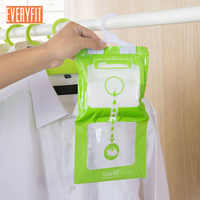 Everyfit 3Pcs Dehumidifier Bags Hanging Wardrobe Desiccant Packets Desiccant Bag Household Cleaning Tools Moisture Absorbent Bag
