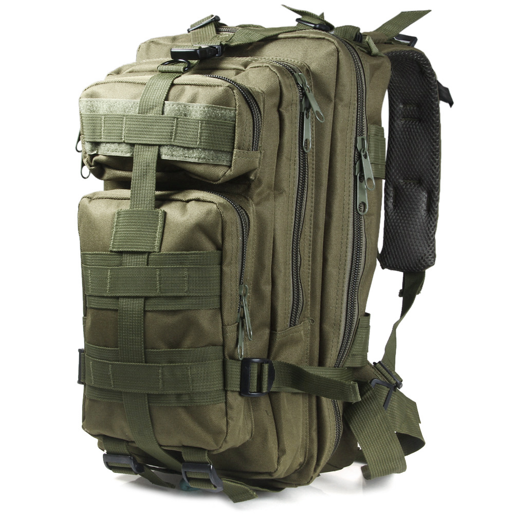 Outlife 30L 3P Tactical Backpack Military Oxford Sport Bag for Camping Traveling Hiking Trekking Bags Outdoor Backpack 9 colors