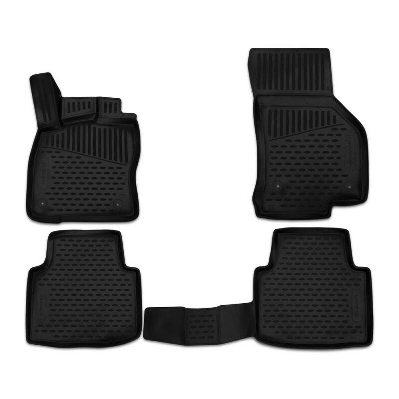 For Skoda Superb 2015- car floor mats carpets auto floor mats dustproof styling interior decoration protection
