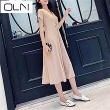 Dress Summer Vestidos Korean OLN LongNew Pit Slim Fit newarrival dress new  arrival