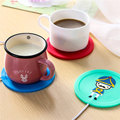 Beautiful Design 5V USB Silicone Heat Warmer Heater Milk Tea Coffee Mug Hot Drinks Beverage Cup 3.75W 9.5x0.6cm 3Color