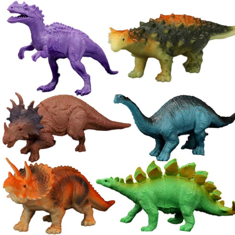 Animais dinossauro simulação brinquedo modelo jurassices jogar dinossauro figuras de ação clássico antigo coleção brinquedos para crianças meninos