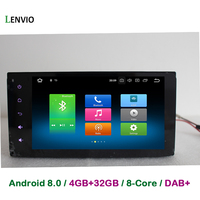 Lenvio 4GB 32GB Octa Core 2 Din Universal Android 8 0 CAR DVD GPS Navigation For