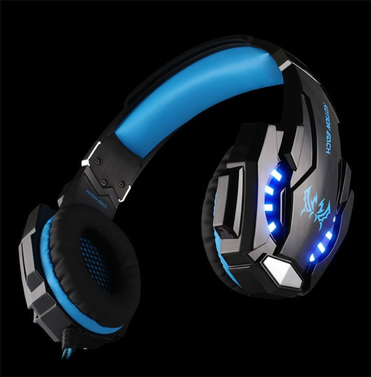 KOTION EACH G9000 3.5mm Game Gaming Headphone Headset Earphone With Microphone LED Light For Laptop Tablet Mobile Phones Xbox ONEPS4 (11)