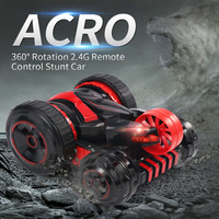 2019 New Arrival Stunt Car JJRC Q49 6 Wheel System One button Deformation 360 Degree Rotation 2.4G RC Car for Christmas Gift