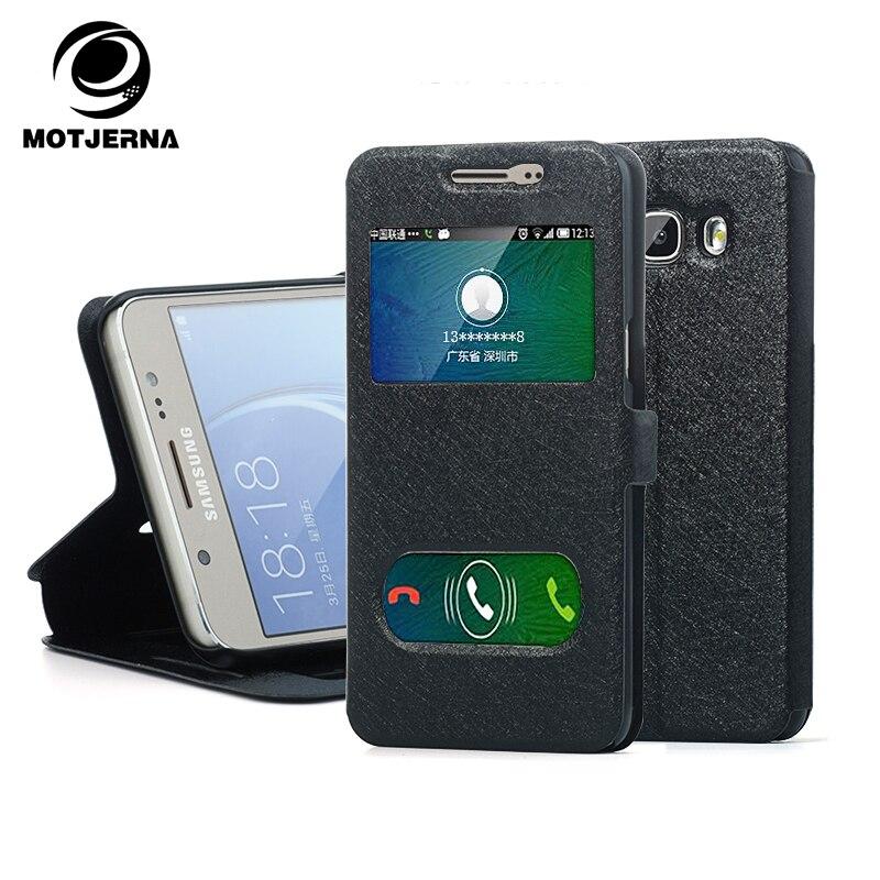 Motjerna <font><b>Phone</b></font> Bag <font><b>Case</b></font> For Samsung Galaxy For A3 A5 J1 Mini <font><b>J5</b></font> <font><b>2016</b></font> 2017 S8 Plus S6 S7 Edge Filp Leather Cover Holder Stand