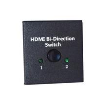 New Arrival female -female 3D 1.4V 2 Port HDMI Bi-directional 2×1 Switch Switcher or 1×2 Splitter Selector