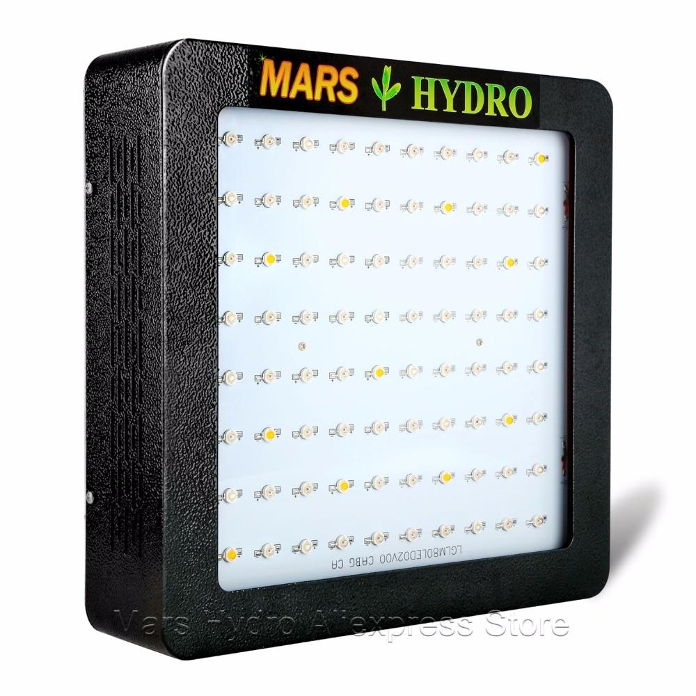 Mars Hydro Mars II 400 Led Grow Light Full Spectrum with IR lights Hydroponics Lamp for Indoor Box tyr hydro light