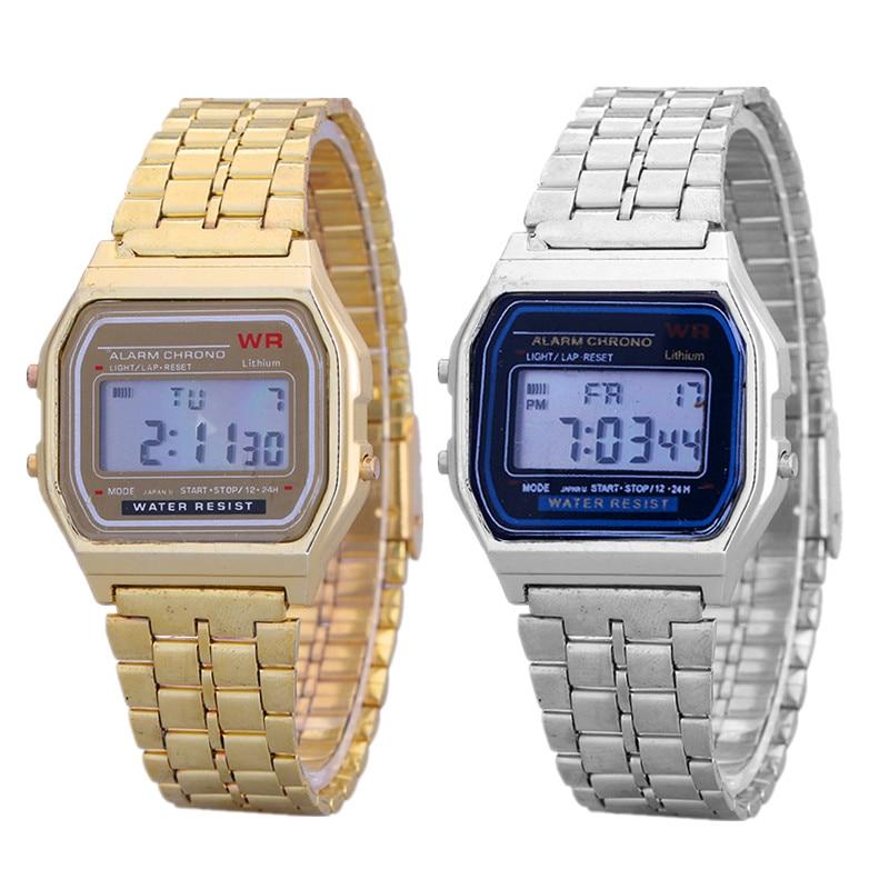 Vrouwen Mannen Luxe Digitial Horloges Fashion Casual Vrouwen - Dameshorloges
