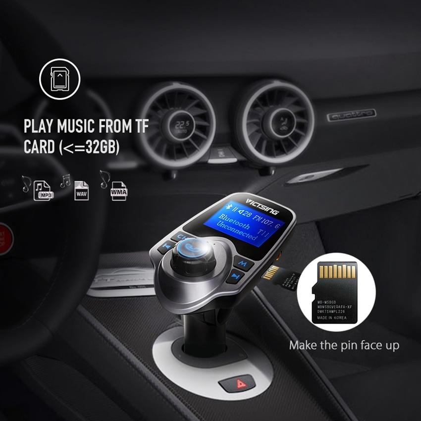 Aliexpress.com : Buy VicTsing Wireless Adapter Bluetooth FM Radio Music Transmitter + Phone