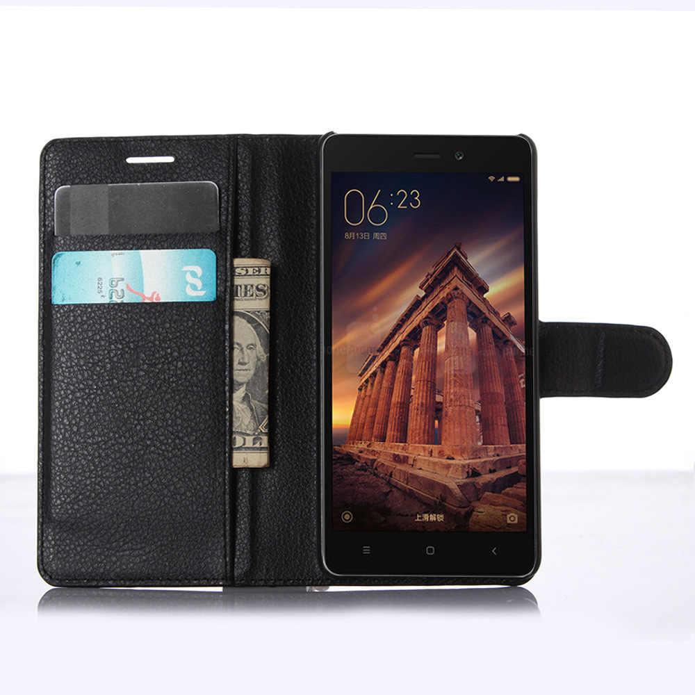 Для Xiaomi Redmi 3 Чехол 5,0 дюймов PU кожаный чехол для Xiaomi Redmi 3 Redmi3 Hongmi 3 флип защитный чехол для телефона